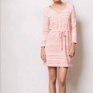 Saturday Sunday anthropology coral Sweater dress S